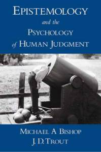 Cover of Epistemology and Human Judgment